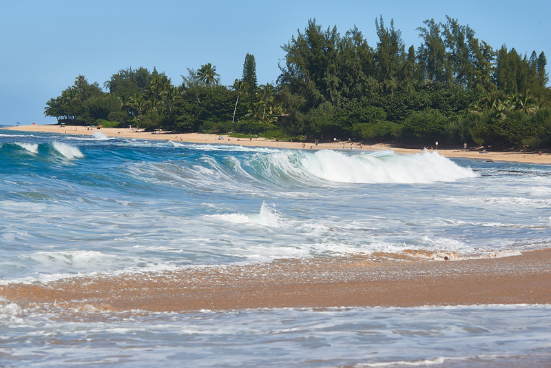 Scene on the north shore, Kauai