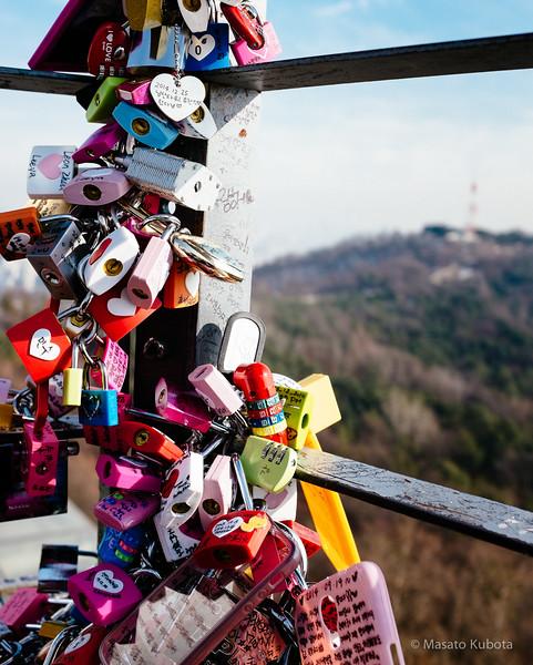 N Seoul Tower - Seoul, Dec 27, 2014