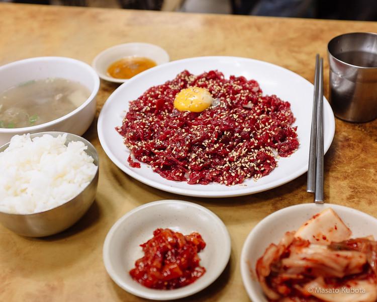 Jugyo-dong (Dongdaemun) Market - Seoul, December 28, 2014