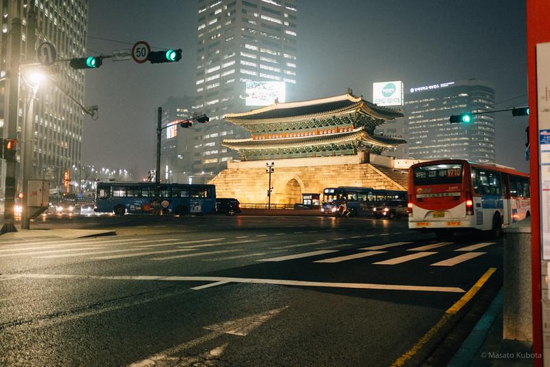 Sungnyemun Gate - Seoul, 2014