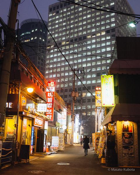 Naengmyeon near City Hall - Seoul, Dec 29, 2014