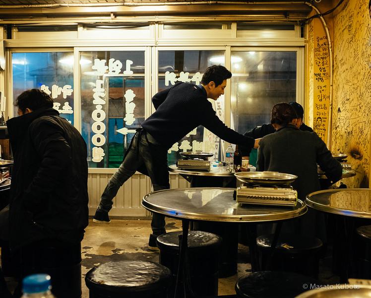 After Midnight Dinner in Sinnonhyon - Seoul, Dec 30, 2014