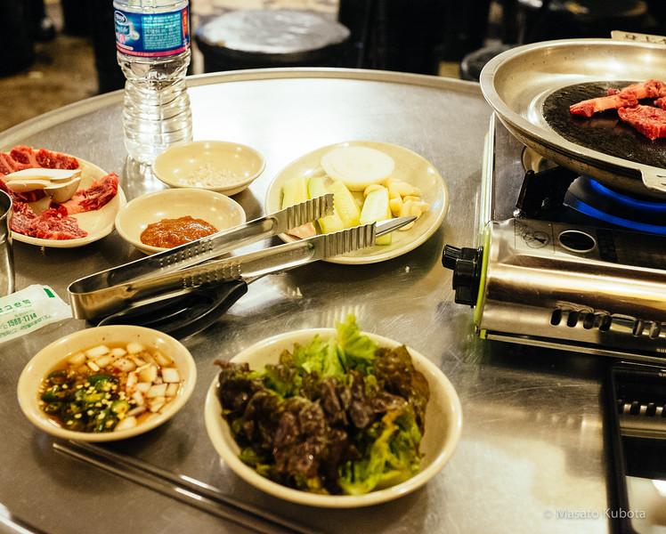 After Midnight Dinner in Sinnonhyon - Seoul, Dec 30, 2014<br /> $12000