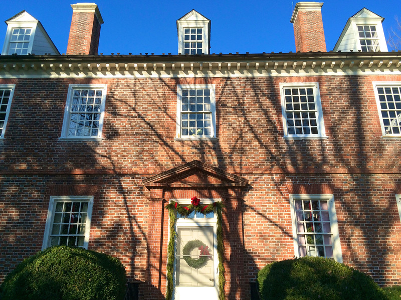 Berkeley Plantation house near Williamston
