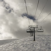 The ride to the top of Breck's Peak 6 just before lift closing that afternoon.