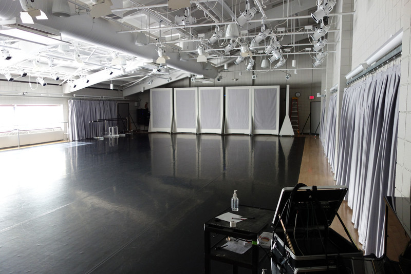 Bates: The dance studio