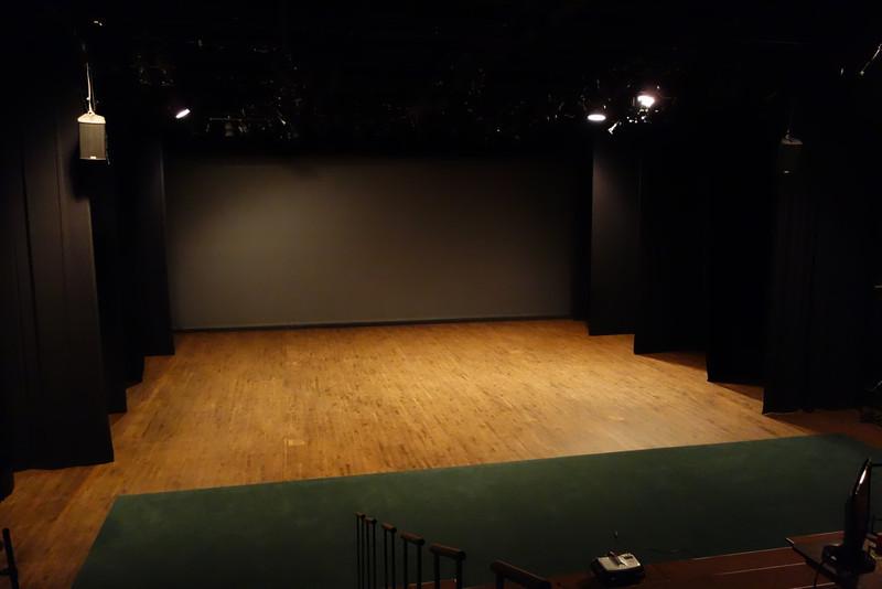 Bennington: The theater.