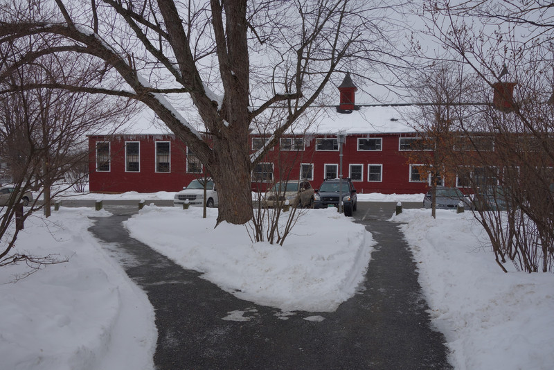 Bennington: The original farm house that the college started in