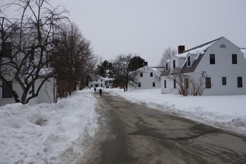 Bennington: The dorms