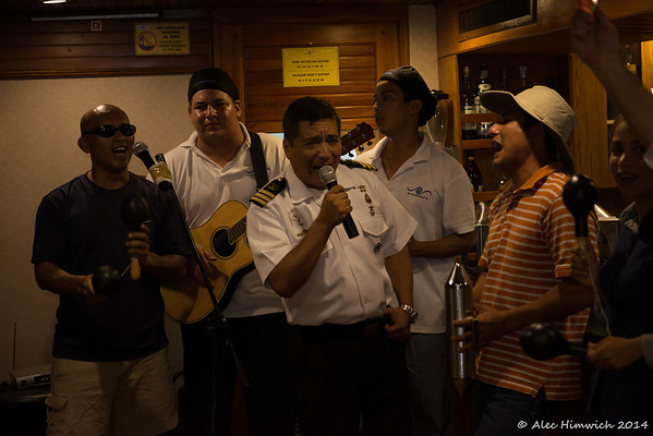 "The Captain gives us ""una mas"""