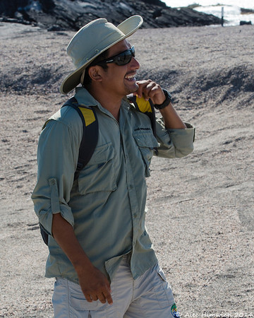 Pepe, one of our two Ecoventura guides