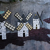 Mosaic art in Puerto Ayora