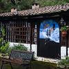 Some of George Cruz's artwork at the San Jorge Ecolodge