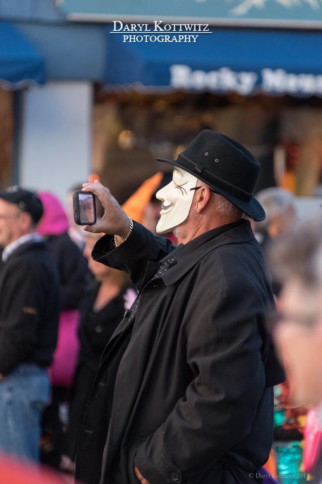 Masked Recorder #1