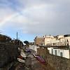Morning rainbow over Dalkey.