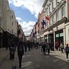 Grafton St in downtown Dublin