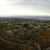 Panoramic view from Dalkey south of Dublin