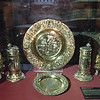 Christ Church Cathedral royal plates from King William III 1697AD