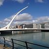 Samuel Beckett rotating bridge in Dublin