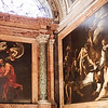 San Luigi dei Francesi<br /> The church's most famous item is the cycle of 3 paintings by the Baroque master Caravaggio in 1599-1600 about the life of St. Matthew:. The Calling of St Matthew, The Inspiration of Saint Matthew, and The Martyrdom of Saint Matthew.