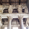 Front columns and the portico