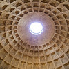 The Pantheon<br /> Almost 2000 years after it was built, the Pantheon's dome is still the world's largest unreinforced concrete dome.
