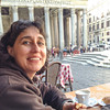 Early morning, first Rome cappuccino in front of the Pantheon. It was chilly, but we came with the warm weather.