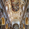 San Luigi dei Francesi, ceiling by Domenichino