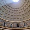 The Pantheon - commissioned by Marcus Agrippa during the reign of Augustus (27 BC - 14 AD) as a temple to all the gods of ancient Rome, and rebuilt by the emperor Hadrian about 126 AD.<br /> It is an amazing structure, and we had to visit it first.