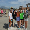 Here we are with Vesuvius in the background.
