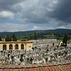 The Arezzo cemetery was pretty neat