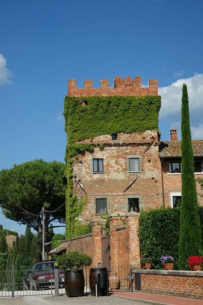 This is where we stayed: Borgo Tre Rose.  It was beautiful.