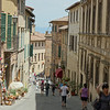 Most of the Tuscan towns we visited were on the top of hills and the towns themselves were very hilly.