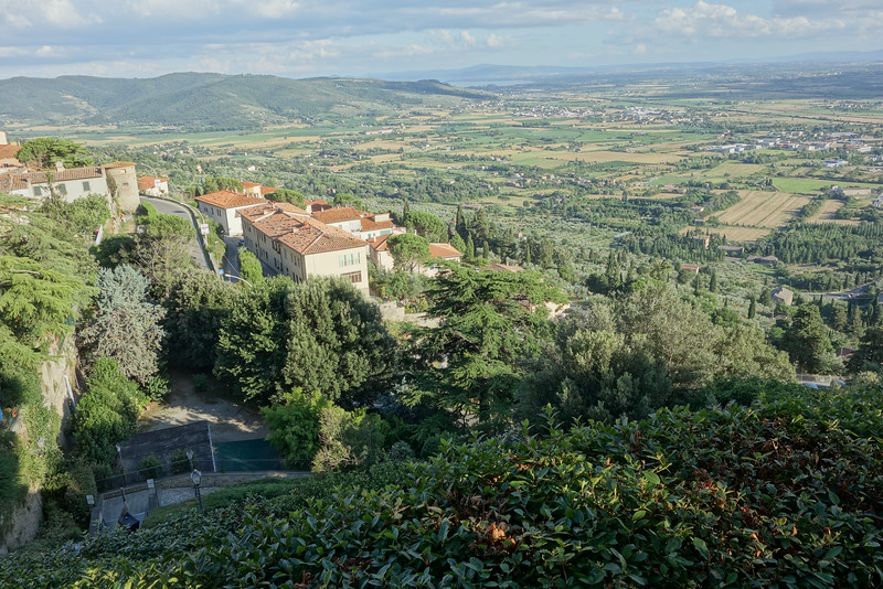 The view from Cortona