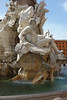 The fountain in Piazza Navonna - a piazza we frequented