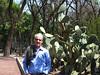 At the botanical garden at Chapultepec Park