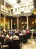 A café near the Zocalo, interior courtyard