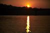Sunset in Chitwan National Park