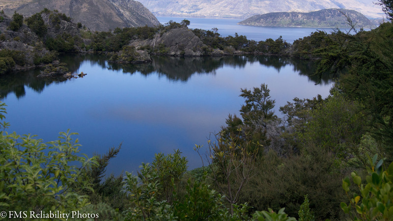An Island in a lake, in an island in a lake