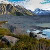 Mueller Glacier terminal lake