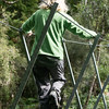 Adventure on a walk wire