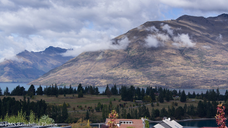 View from our apartment in Queenstown