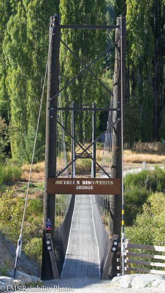 Views along bike ride along Arrow river bridges trail.