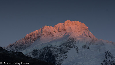Aoraki mt cook march 6 adventuresadventures our room at the aoraki court motel looked out to mount sefton the morning light cast an amazing pinkish glow which fred photographed even before he publicscrutiny Image collections