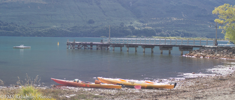 Kayak trip from Glenorchy to Kinloch Lodge for dinner with Sam of Rippled Earth