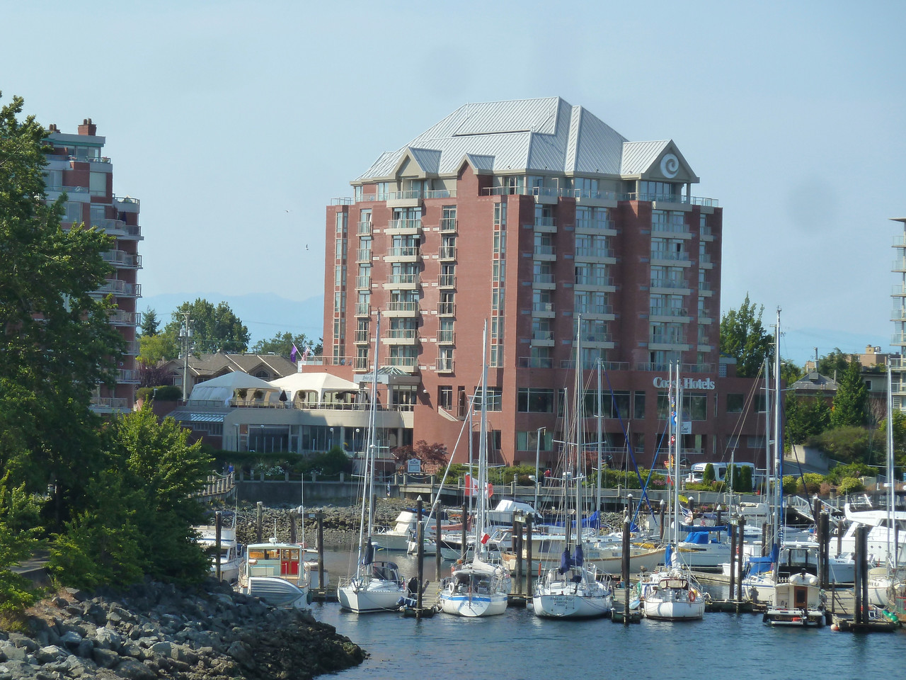 Our hotel in Victoria!