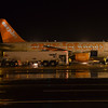 A sister plane stands at Belfast International getting fuelled before its next trip into the sky. 240114