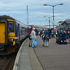 156453 stands at Mallaig having worked 1037 from Glasgow Queen Street. 050814