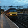 Wednesday morning now, 90026 stands at Crewe with the 2044 Inverness / London Euston. 060814