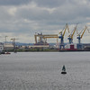 Belfast Lough & Harbour with the famous H&W Cranes. 090614